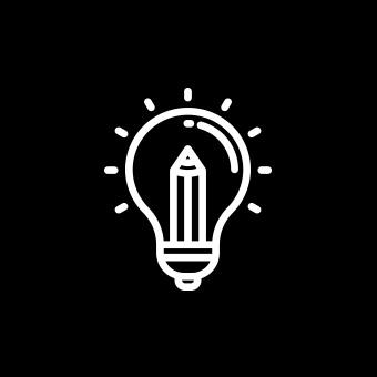 Icona consulenza creativa